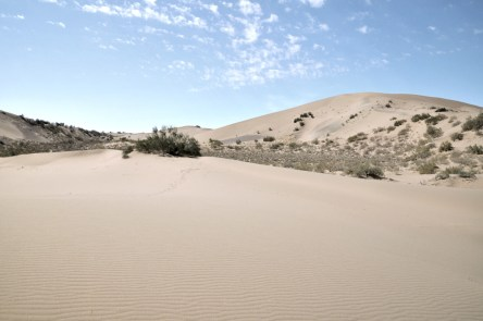 Kawałek pustyni.