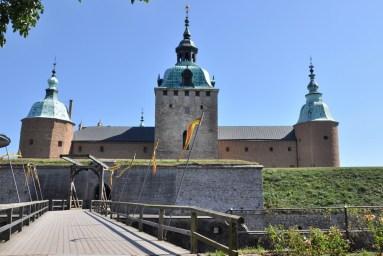 Kalmar Slott - twierdza zbudowana na przełomie XII i XIII w. Niegdyś najokazalszy zamek w Skandynawii.