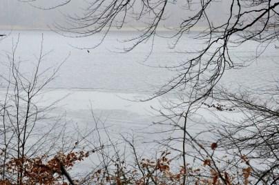 Jezioro Odnoga. Granica zima/wiosna