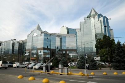 Do 1998 stolica Kazachstanu. I to się czuje! Tu: centrum biznesowe.