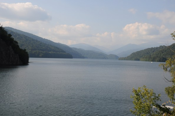 Jezioro Vidraru.