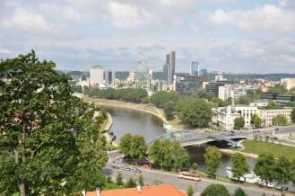 Nowe Wilno i rzeka Wilia (dopływ Niemna). Gdynian proszę o zauważenie trolejbusu :)