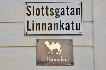 Stare fińskie miasteczka mają takie właśnie osobliwości.