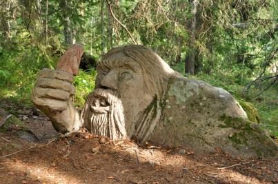 W skandynawskich lasach, jak wiadomo, można spotkać trolle.