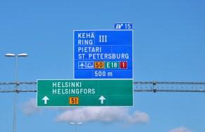 Sankt Petersburg kusi... Ale my na Helsinki ciągniemy.