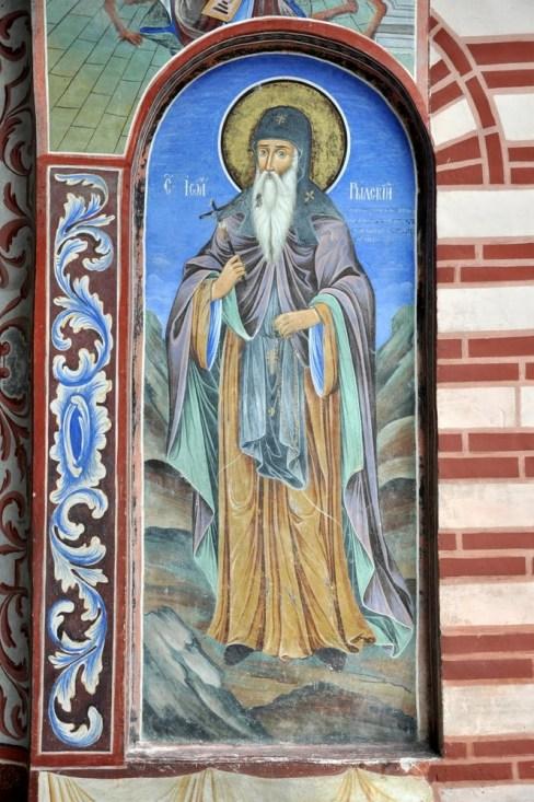 Św. Iwan Rylski - założyciel monastyru.