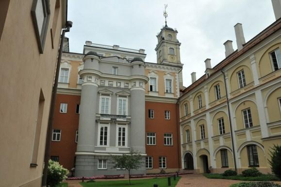 Słynny wileński uniwersytet.