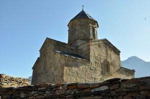 XIV w. Dla Gruzinów to święte miejsce. W chwilach zagrożeń to tu przechowywano narodowe relikwie, między innymi krzyż świętej Nino, która przyczyniła się do przyjęcia chrześcijaństwa w Gruzji.