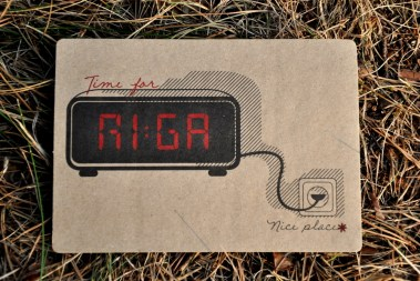 Time for Riga!