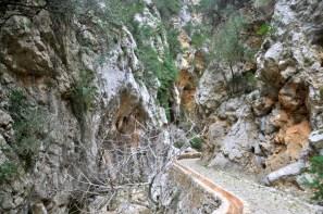 Wracamy pętelką przez taki kanion! Barranc de Biniaraix.
