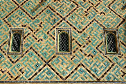 Mauzoleum jest wpisane na listę UNESCO.