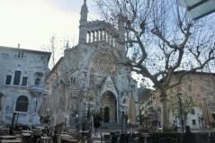 Barokowa Esglesia de Sant Bartomeu de Soller.
