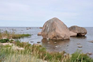 Park Narodowy Lahemaa - Zatoka Kasmu usiana największymi głazami.