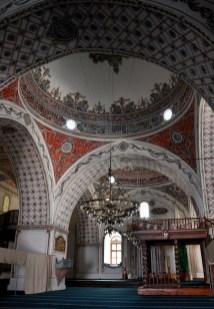 Meczet Dżumaja wewnątrz.