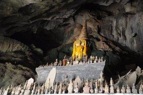 Tham Ting - jaskinia 4ooo Buddów