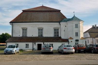 Synagoga w Tykocinie, 1642r., druga co do wielkości (po krakowskiej) i jedna z najstarszych w Polsce.