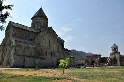 Mccheta - gruziński Wawel. Mccheta jest siedzibą najwyższych władz Gruzińskiego Kościoła Prawosławnego.