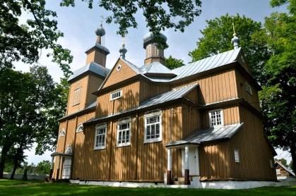 Trześcianka, cerkiew Ofiarowania Najświętszej Marii Panny, 1864r.