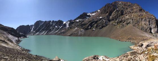 Wysokość: 3500 m. Już w pełnym słońcu.