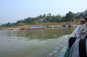 Przeprawa graniczna przez Mekong, Chiang Khong/Hua Xai.