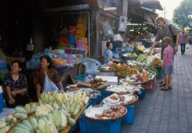 Chiang Mai - ulubiony ryneczek... owocki...