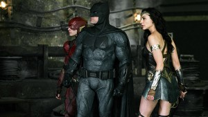 justice league footage