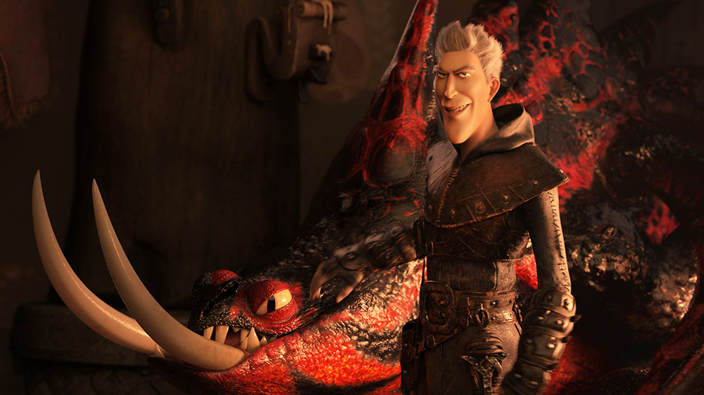 grimmel how to train your dragon