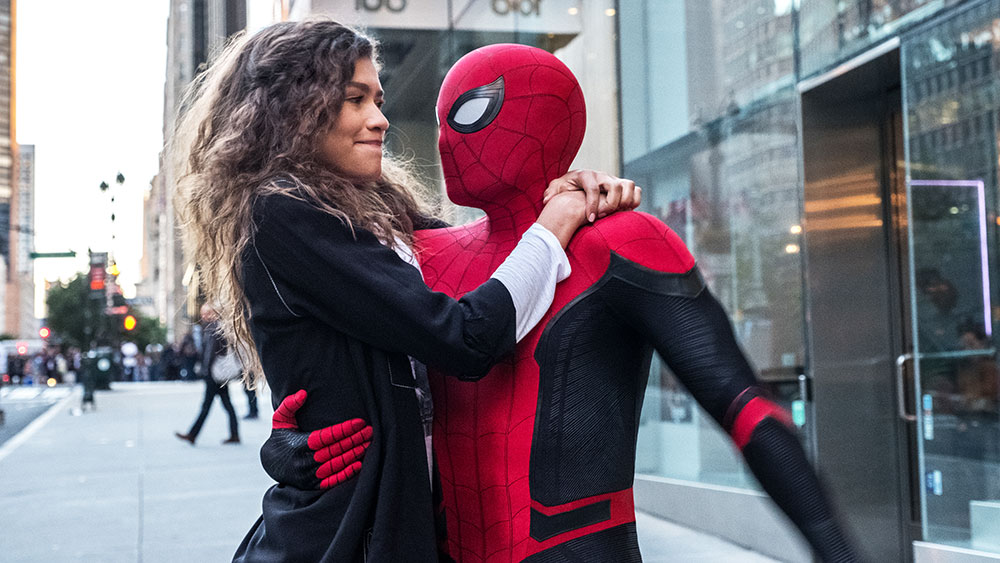 spiderman far from home trailer