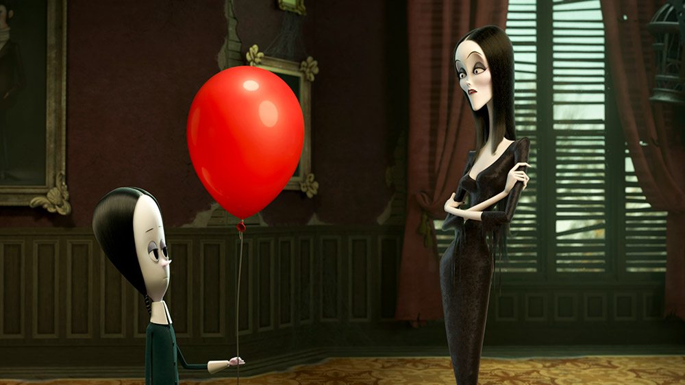 the addams family animated movie