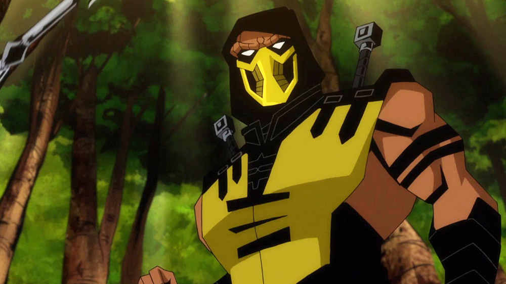 scorpion mortal kombat animated movie