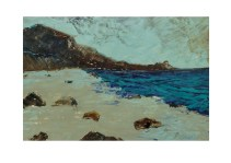55 Kennack Sands Cornwall Acryl /2014/