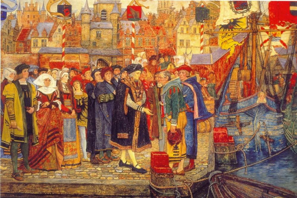 Geschiedenis - Kroniek van Antwerpen 1500 - 1600 (2/6)