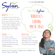 Here's an ad I did for frOlic for Sylvan Learning Center and their new programs.