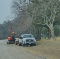 Leaning forward & rural construction. They call it progress.
