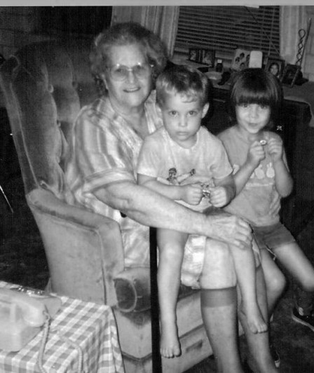 My paternal grandmother.