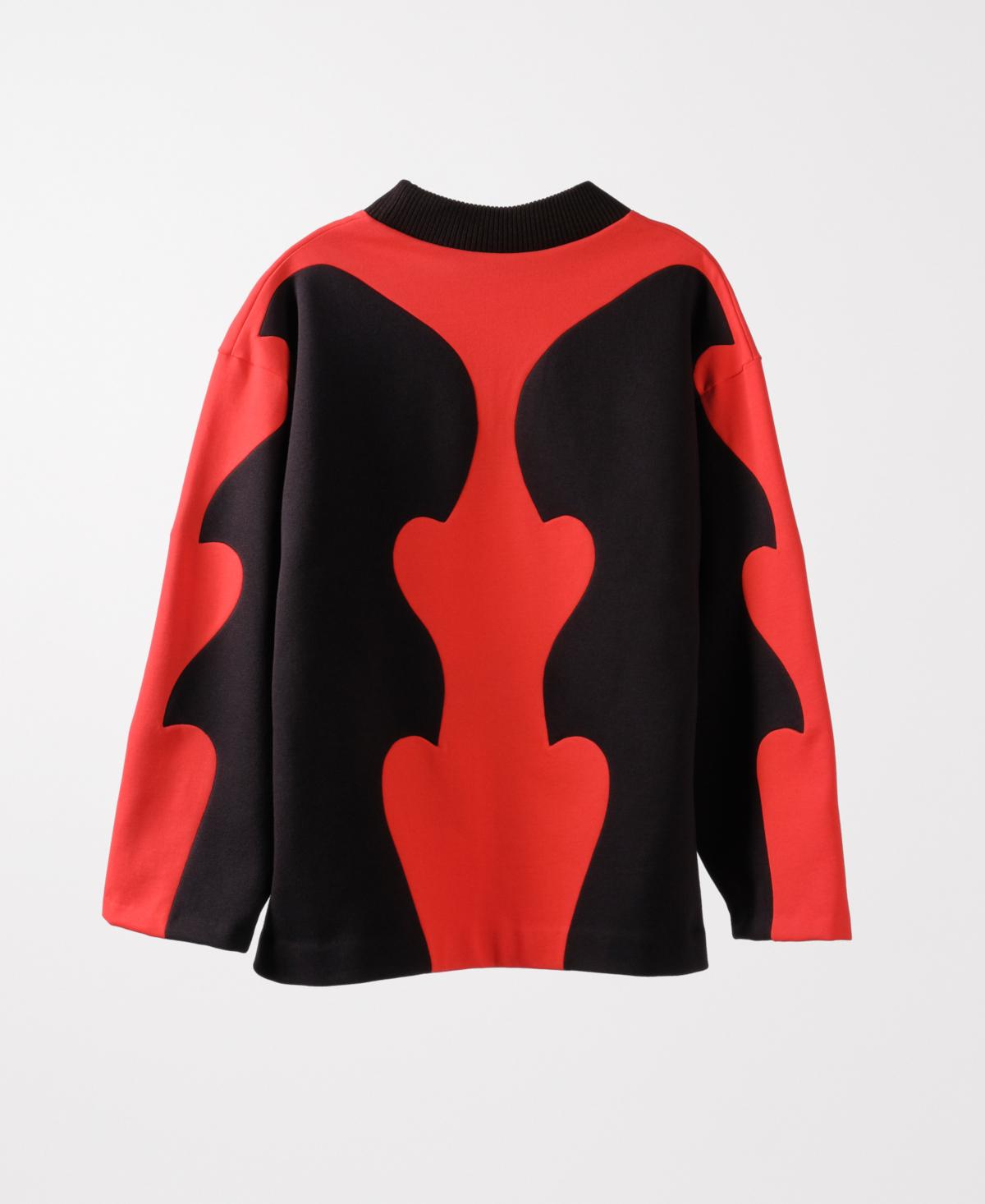 Bowie Kiss Red Sweatshirt
