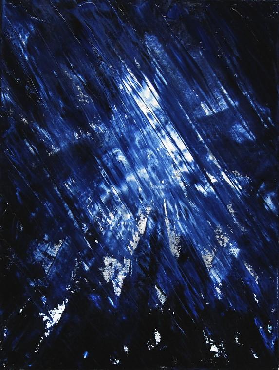 Blue, Kunst, Malerei Ölgemälde Painting