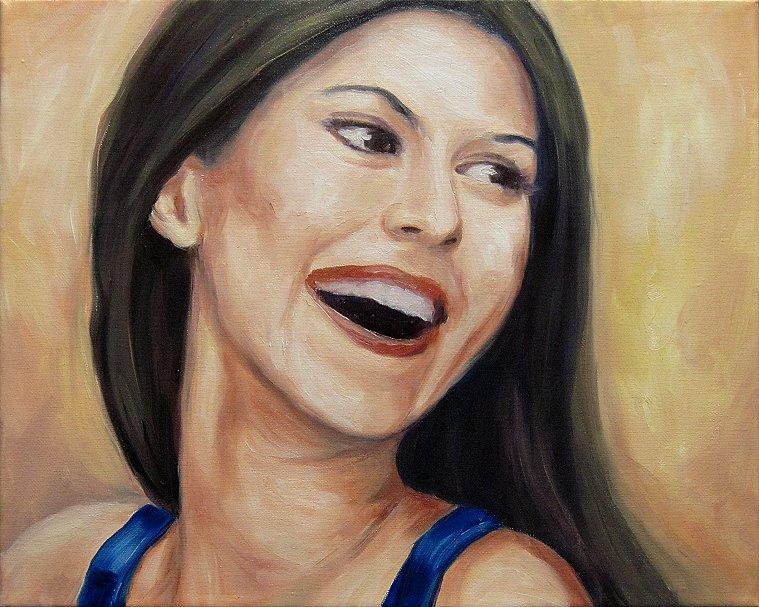 Karo Portrait Kunst, Malerei Ölgemälde Painting