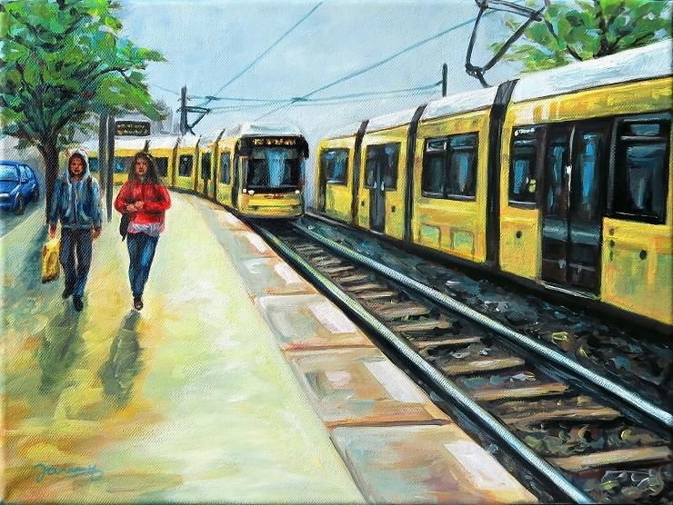 M10 Berlin, Kunst, Malerei Gemälde Painting
