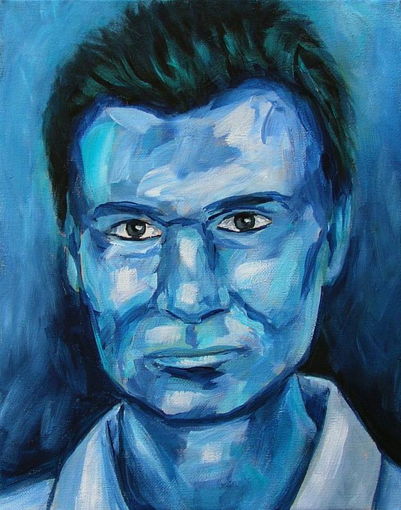 Phil, Portrait Kunst Moderne Malerei Gemälde Painting