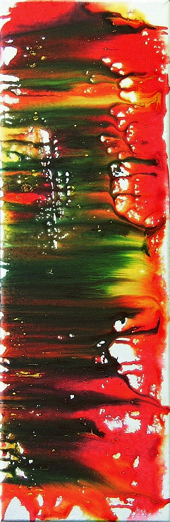Farbe, abstrakte Kunst, Malerei Gemälde Painting