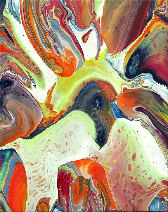 color17 Fluidpainting Gemälde Moderne Kunst