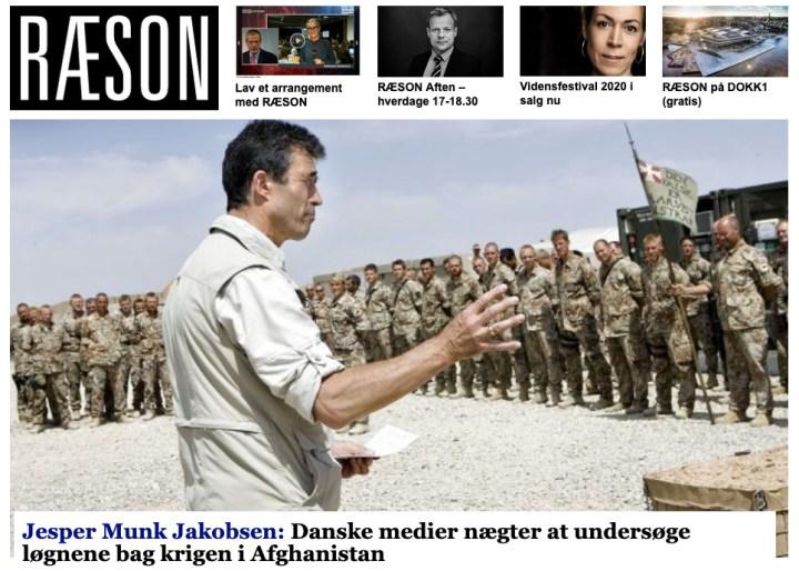 Danske medier nægter at undersøge løgnene om krigen i Afghanistan