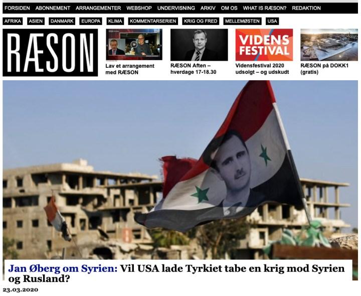 Vil USA lade Tyrkiet tabe en krig mod Syrien og Rusland?