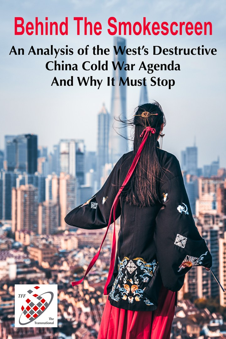 Pathbreaking analysis of the West's new Cold War against China