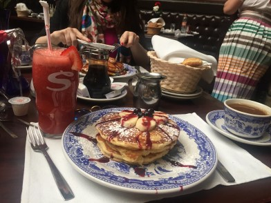 Pancakes in Mexico City