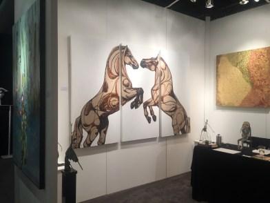 Jessica Potenza Artist Montreal Horses