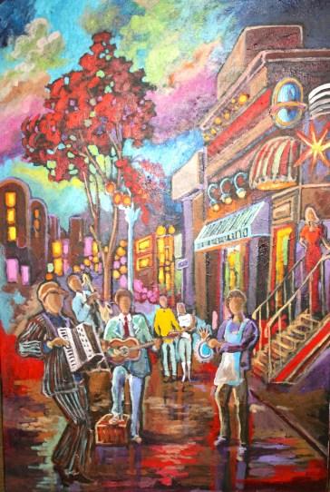 art gypsy Kevin Jenne Canadian Artist Artwork
