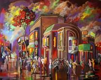Kevin Jenne Canadian Artist Artwork city