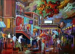 Kevin Jenne Canadian Artist Artwork Crescent